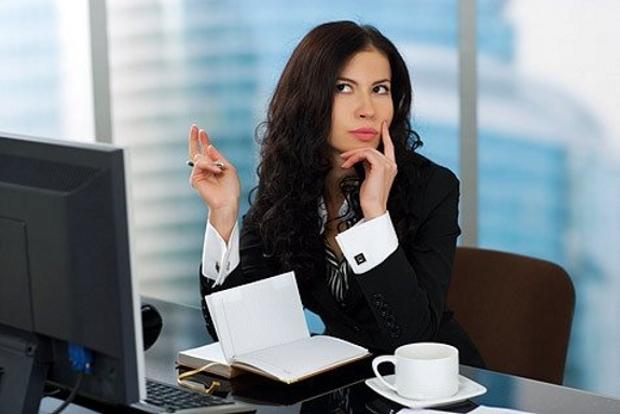 Работа умных девушек привык к девушке на работе