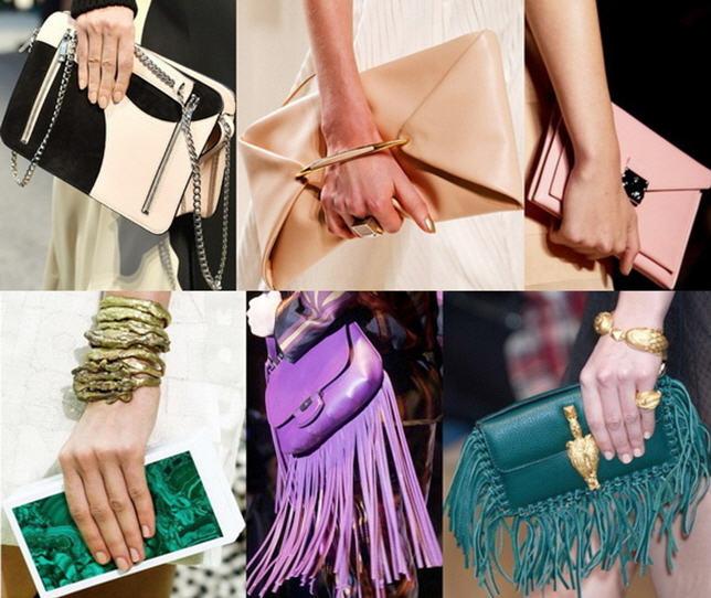 Модные клатчи и сумки своими руками 3